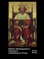 """William Shakespeare's """"Richard II"""""""