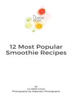 12 Most Popular Smoothie Recipes