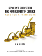 Resource Allocation and Management in Defence