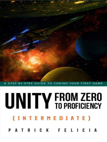 Unity from Zero to Proficiency (Intermediate): Unity from Zero to Proficiency, #3