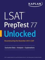 LSAT PrepTest 77 Unlocked