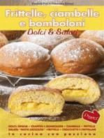 Frittelle, Ciambelle E Bomboloni