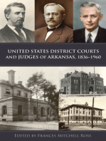 United States District Courts and Judges of Arkansas, 1836–1960