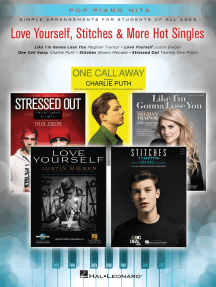 Love Yourself, Stitches & More Hot Singles: Simple Arrangements for Students of All Ages