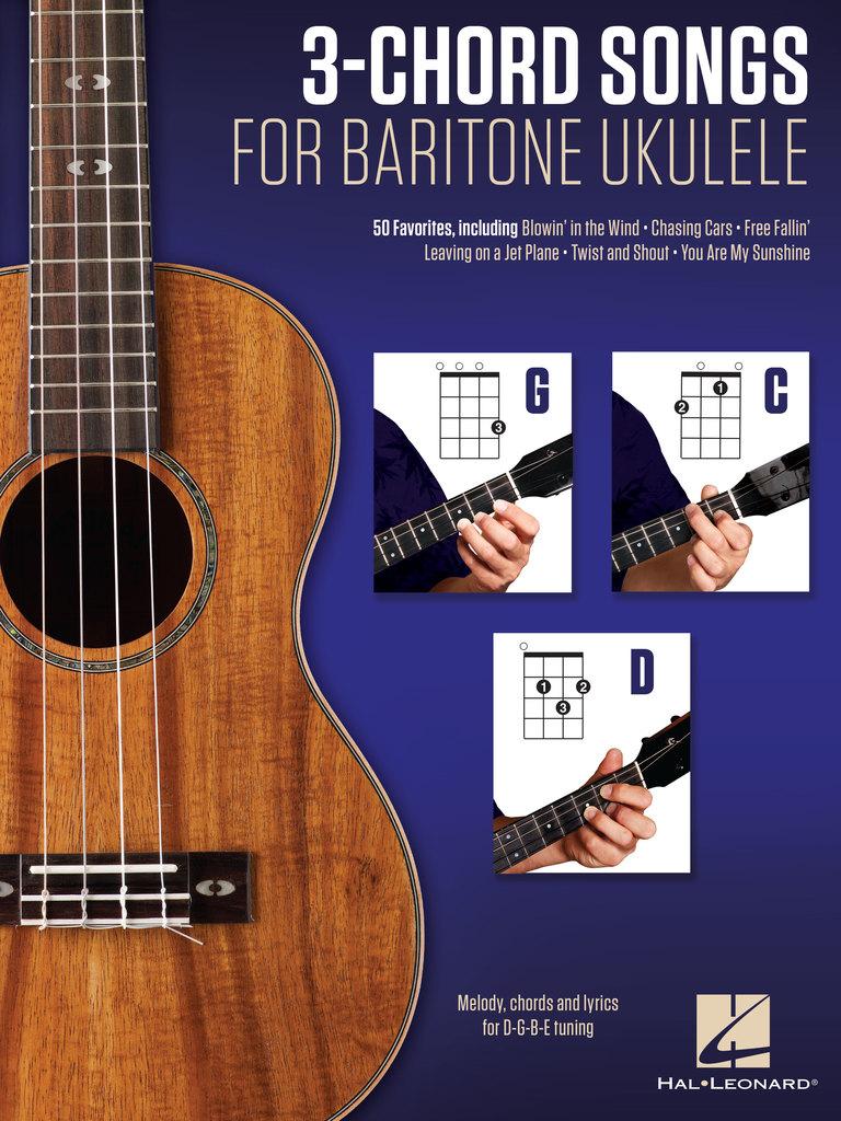 Free Fallin'   Partition de 15 Chord Songs for Baritone Ukulele G C D de  Hal Leonard LLC