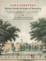 Words, Works, and Ways of Knowing