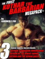 The First Kothar the Barbarian MEGAPACK®: 3 Sword and Sorcery Novels