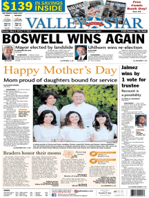 The Valley Morning Star - 05-08-2016