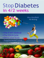 Stop Diabetes in 4/2 Weeks