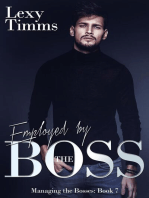 Employed by the Boss: Managing the Bosses Series, #7