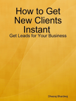 How to Get New Clients Instant