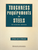 Toughness Requirements for Steels: An International Compendium