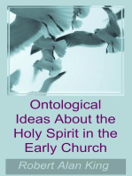Ontological Ideas About the Holy Spirit in the Early Church
