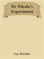 Dr Nikola's Experiment