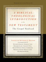 A Biblical-Theological Introduction to the New Testament