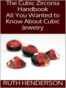 The Cubic Zirconia Handbook: All You Wanted to Know About Cubic Jewelry