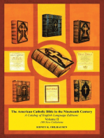 The American Catholic Bible In the Nineteenth Century