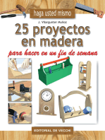 25 proyectos en madera para hacer en un fin de semana