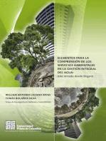 Elementos para la comprensión de los servicios ambientales en la gestión integral del agua