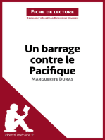 Un barrage contre le Pacifique de Marguerite Duras (Fiche de lecture)