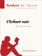 L'Enfant noir de Camara Laye (Analyse de l'oeuvre)