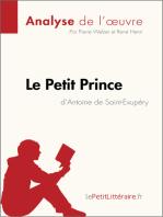 Le Petit Prince d'Antoine de Saint-Exupéry (Analyse de l'oeuvre)