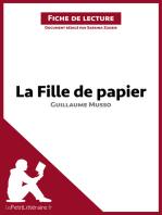 La Fille de papier de Guillaume Musso (Fiche de lecture)