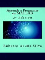 Aprende a Programar en MATLAB