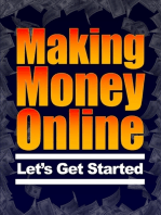 Making Money Online - Let's Get Started