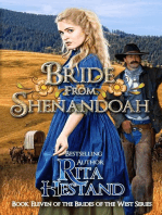 Bride from Shenandoah (Brides of the West Series Book Eleven)