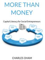 More than Money: Capital Literacy for Social Entrepreneurs