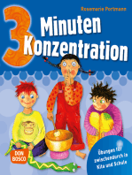 3 Minuten Konzentration - eBook