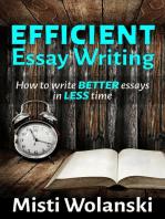 Efficient Essay Writing