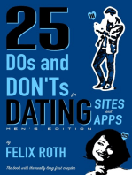 25 Dos and Don'ts for Dating Sites & Apps