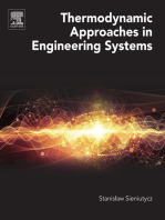 Thermodynamic Approaches in Engineering Systems