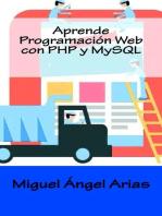 Aprende Programación Web con PHP y MySQL