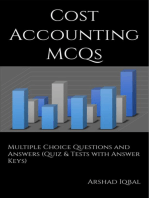 Cost Accounting MCQs