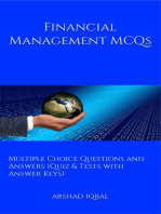 Financial Management MCQs: Multiple Choice Questions and Answers (Quiz & Tests with Answer Keys)