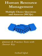 Human Resource Management Multiple Choice Questions and Answers (MCQs)