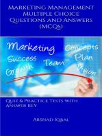 Marketing Management MCQs