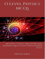O Level Physics MCQs