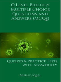 O Level Biology MCQs: Multiple Choice Questions and Answers (Quiz & Tests  with Answer Keys) by Arshad Iqbal - Read Online