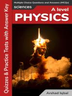 A Level Physics MCQs