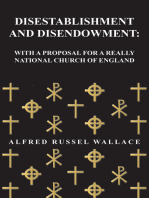 Disestablishment and Disendowment