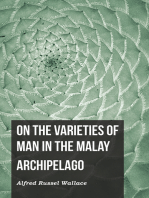 On the Varieties of Man in the Malay Archipelago
