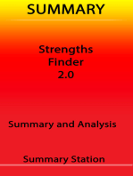 Strengths Finder 2.0 | Summary