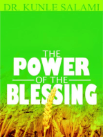 THE POWER OF THE BLESSING
