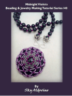 Midnight Violets Beading and Jewelry Making Tutorial Series I40