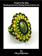 Dragon's Eye Ring Beading & Jewelry Making Tutorial Series I42