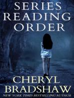 Cheryl Bradshaw Series Reading Order